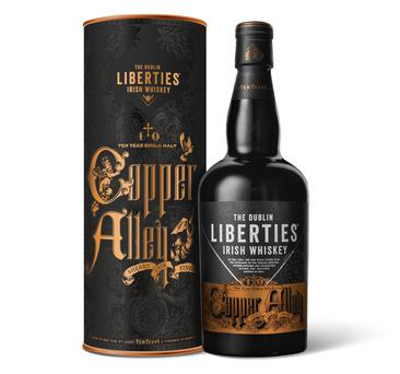 The Dublin Liberties Copper Alley Irish Whiskey