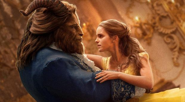 Tale as old as time: Dan Stevens and Emma Watson in Beauty and The Beast