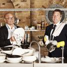 Double trouble: MasterChef's formidable hosts John Torode (left) and Gregg Wallace