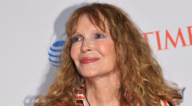 TROUBLED: Mia Farrow
