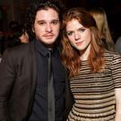 Off-screen couple: Rose with Kit Harington