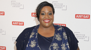 Happy times: Alison Hammond