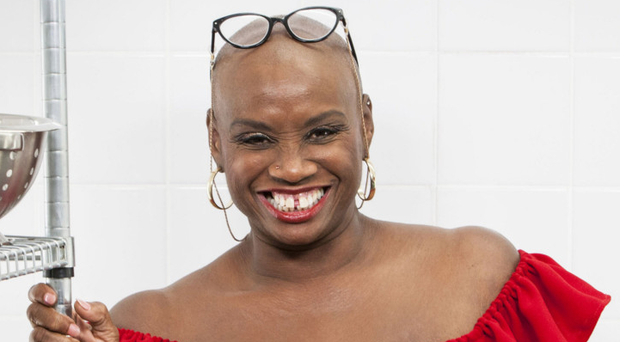 New face: Andi Oliver has taken over from Prue Leith on Great British Menu