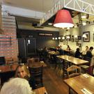 The restaurant on Wellington Place has become a very popular lunchtime venue