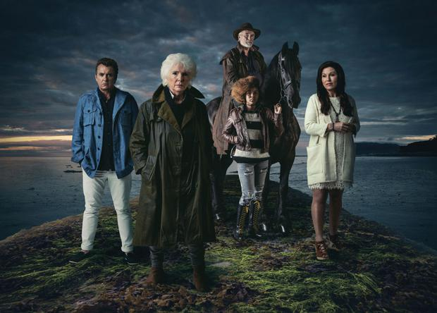 Star cast: Shane Richie, Fionnula Flanagan, Ebony O'Toole Achempong, Ian McElhinney and Jessie Wallace