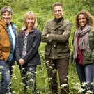 SPRING TIME: Martin Hughes-Games, Michaela Strachan, Chris Packham, Gillian Burke