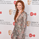 Stellar cast: Eleanor Tomlinson at the Bafta awards last month