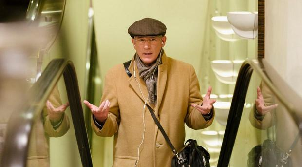 Great reviews: Richard Gere, as Norman Oppenheimer, has been praised for his new movie role