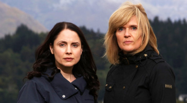Cop roles: Laura Fraser as Annie Redford and Siobhan Finneran as DCI Lauren Quigley