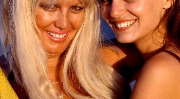 Mother's love: Margaret Dupre with daughter India