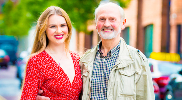 Partners in crime: Zoe Salmon and her father, Joe, are incredibly close