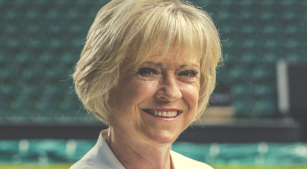 Courting perfection: Sue Barker is looking forward to another Wimbledon
