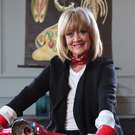Riding High: Amanda Barrie appears in new show The Baby Boomers' Guide to Growing Old