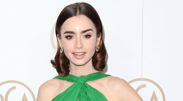 Star performance: actress Lily Collins