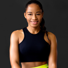 HEALTHY APPROACH: Fitness guru Amara Kanu
