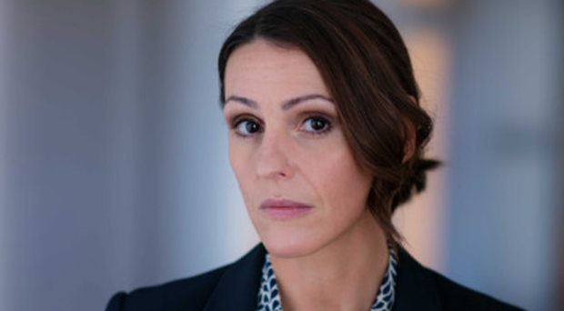 Challenging role: Suranne Jones returns as the titular Doctor Foster