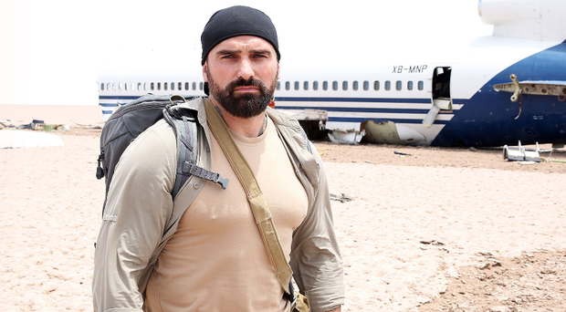 Ant Middleton in the new Channel 4 show, Escape