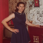 Tom Kelly's mother Irene at home shortly before she left