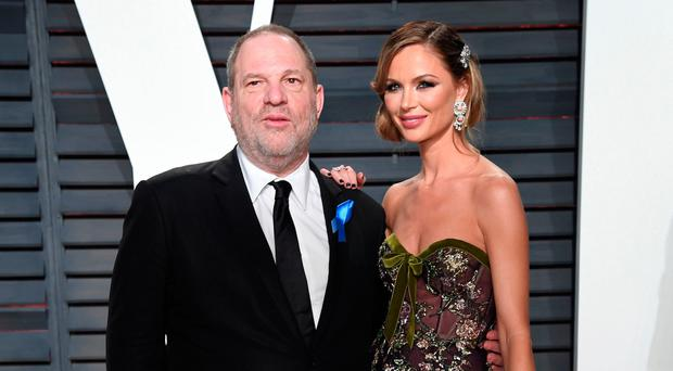 Harvey Weinstein with Georgina Chapman