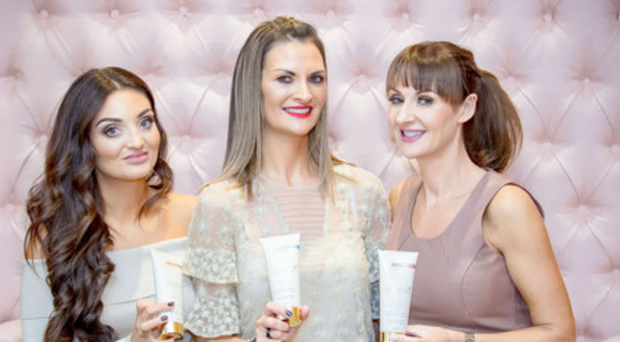 (from left) Sarah White, Leah White and Lynsey Bennett