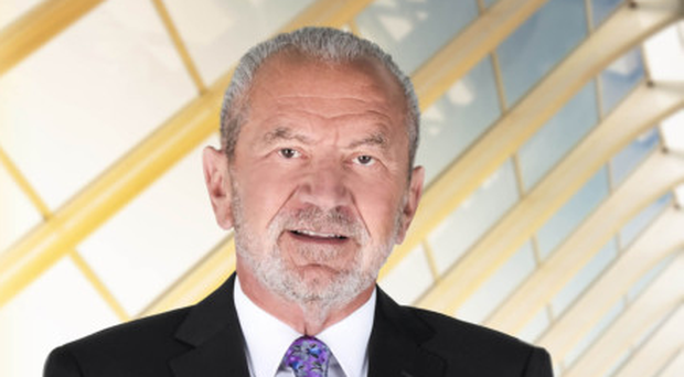 Lord Sugar insists he's really just a big softie