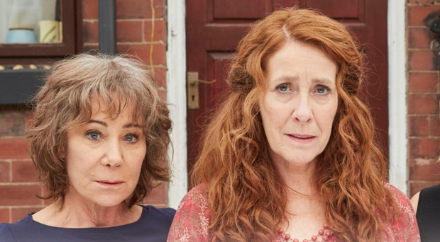 Friends in need: from left, Zoe Wanamaker, Phyllis Logan and Miranda Richardson in Girlfriends