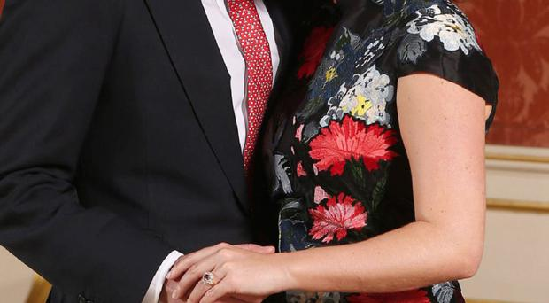 Princess Eugenie with her fiance Jack Brooksbank