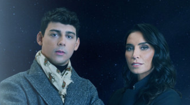 Matt Richardson and Christine Lampard