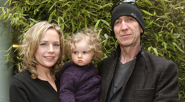 Julie Kelly and Charlie Whisker with their daughter Ruby Mae in 2010