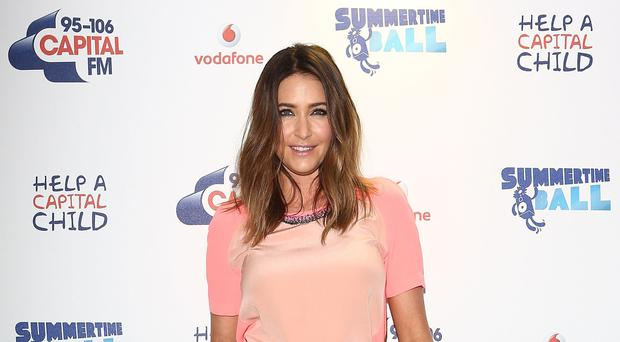 Lisa Snowdon likes to work out four times a week