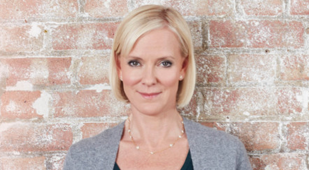Screen star: Hermione Norris takes on a new role in Innocent