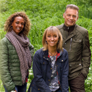 Gillian Burke, Michaela Strachan and Chris Packham