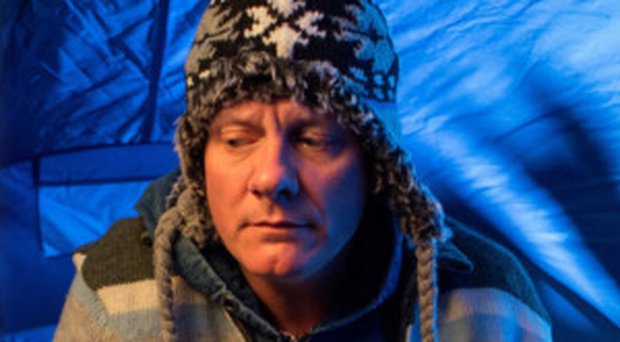 Corrie star Sean Tully, played by Antony Cotton, ends up living in a tent and endures a horrible time