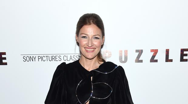 Kelly Macdonald at the New York premiere of Puzzle