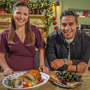 Winning recipe: Catherine Fulvio and Paul Ainsworth take the heat out of Christmas cooking