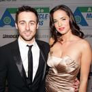 Pippa and Eugene Laverty at an event in Belfast