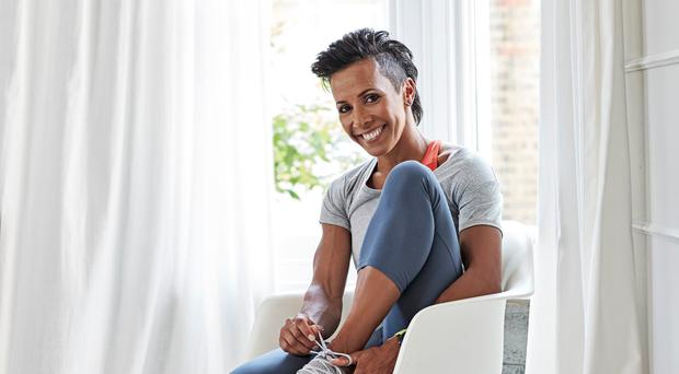 Dame Kelly Holmes aims to inspire wellbeing in other people