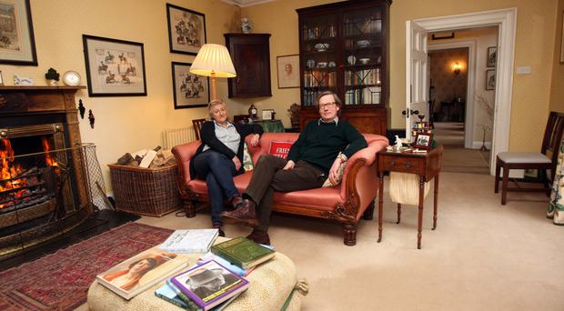 James and Nicola Manningham-Buller at home in Ballymote House