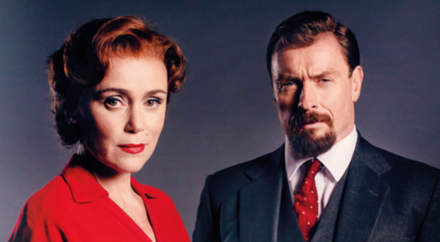 Keeley Hawes with Toby Stephens in Summer of Rockets