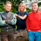 From left, Chris Packham, Michaela Strachan, Iolo Williams and Gillian Burke