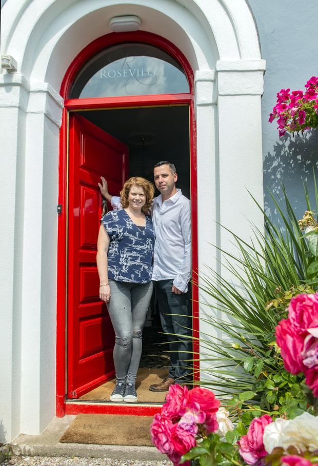 Caroline and Richie Foley of Roseville Guesthouse