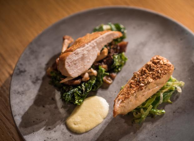 The Fitzwilliam Hotel's menu has plenty to choose from