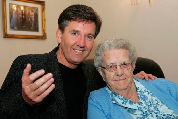 Daniel O'Donnell with his mother Julia
