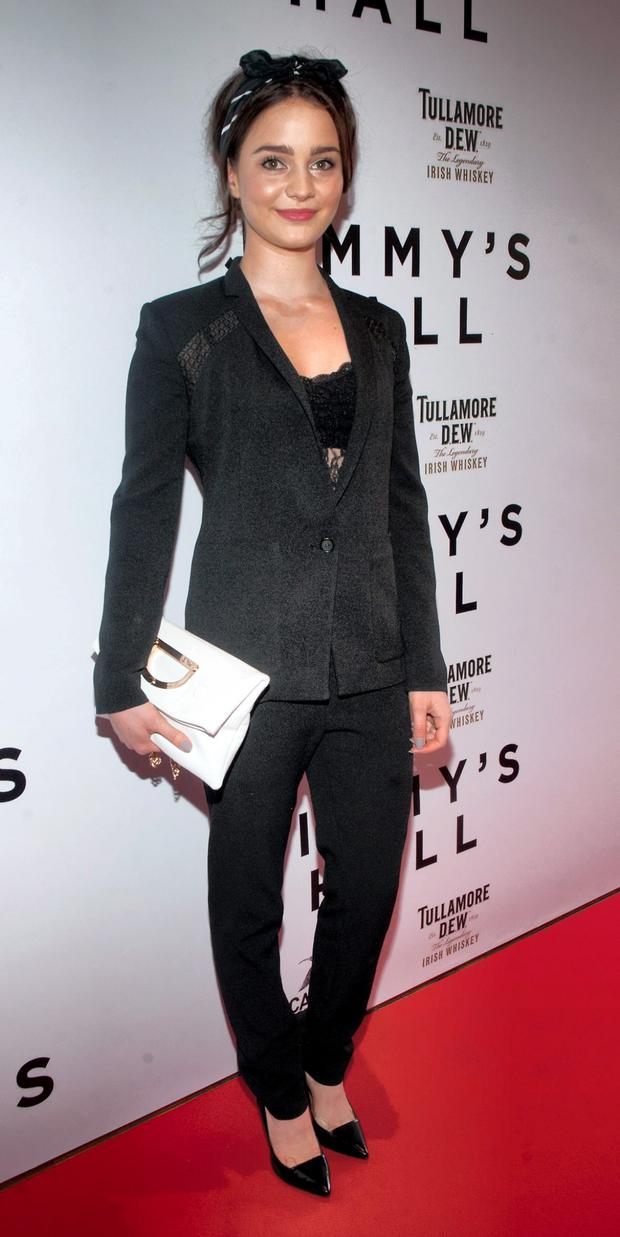 Aisling at the Irish premiere of Jimmy's Hall