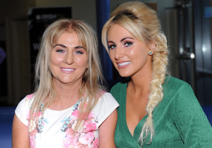 Cliona Hagan with her mother Clare