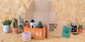 GREEN GOODIES: Barry's Cactus Club subscription box