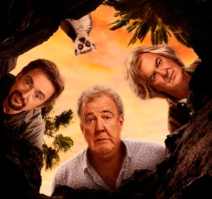 BACK AGAIN: Richard Hammond, Jeremy Clarkson and James May