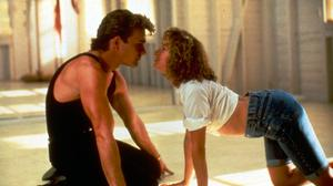 BE MY BABY: Patrick Swayze and Jennifer Grey in Dirty Dancing