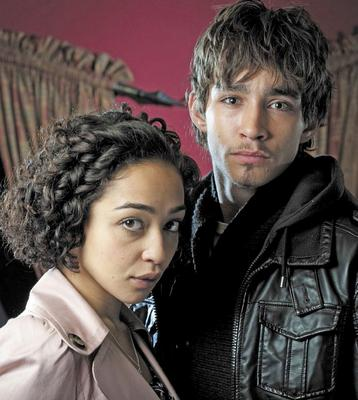 Tough drama: Rosie in Love/Hate with Robert Sheehan