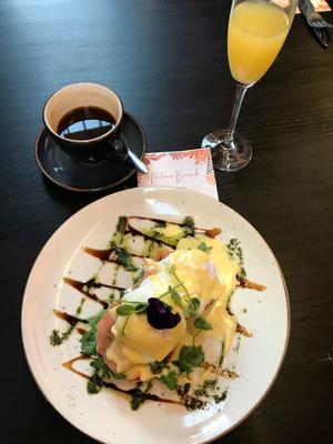 Brunch specials: A dish from The MAC cafe